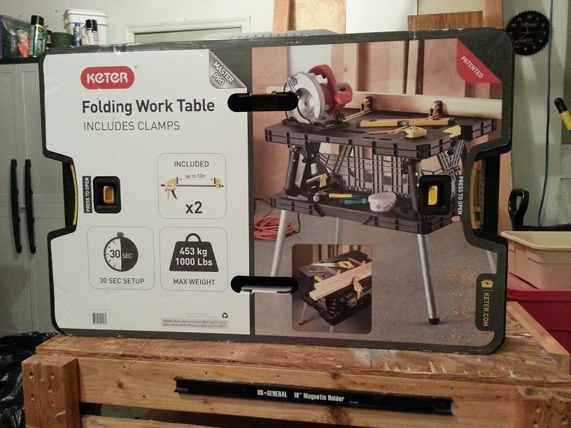 Tool Review: Keter Portable Work Station