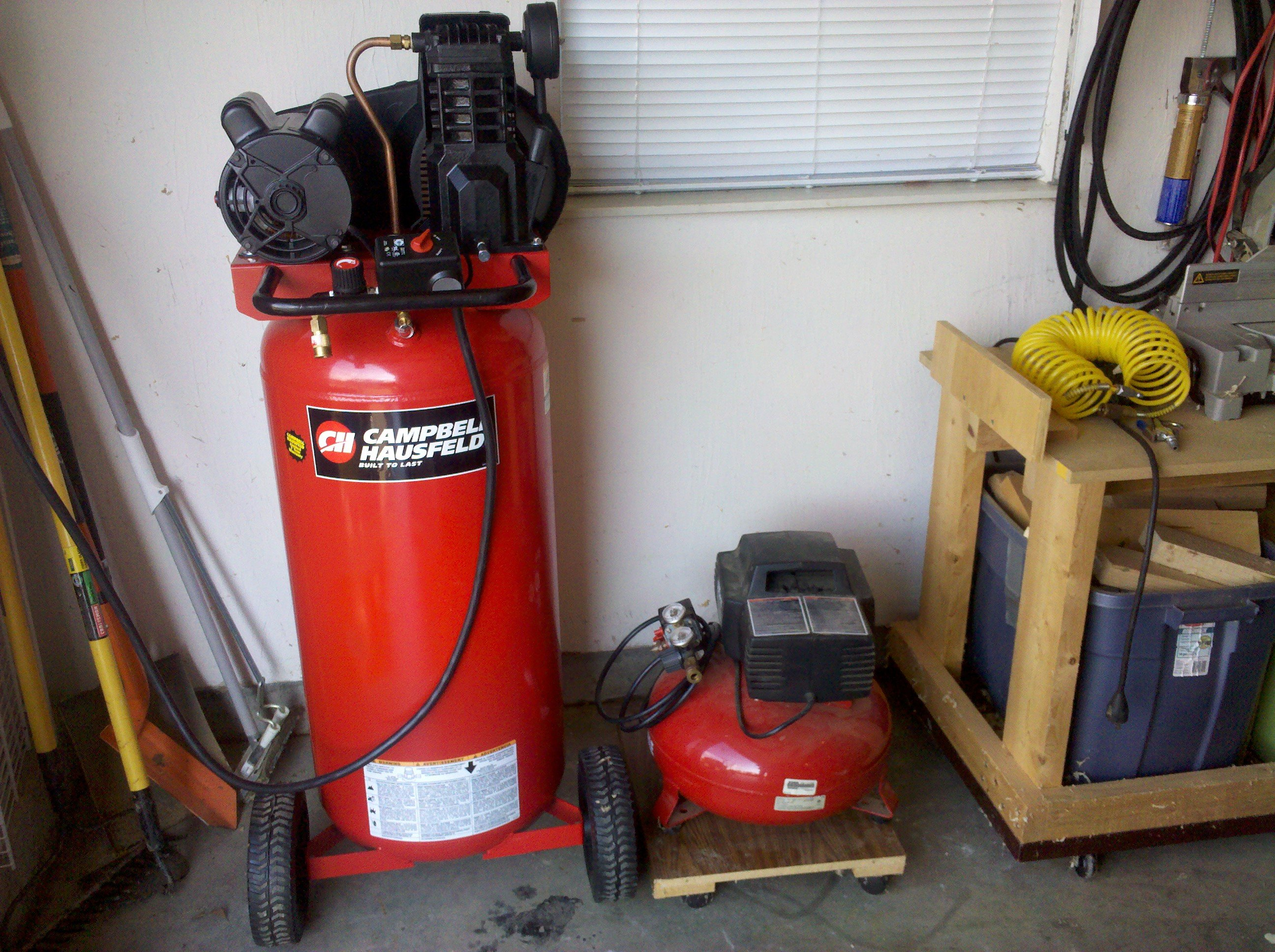Week One with the New Air Compressor