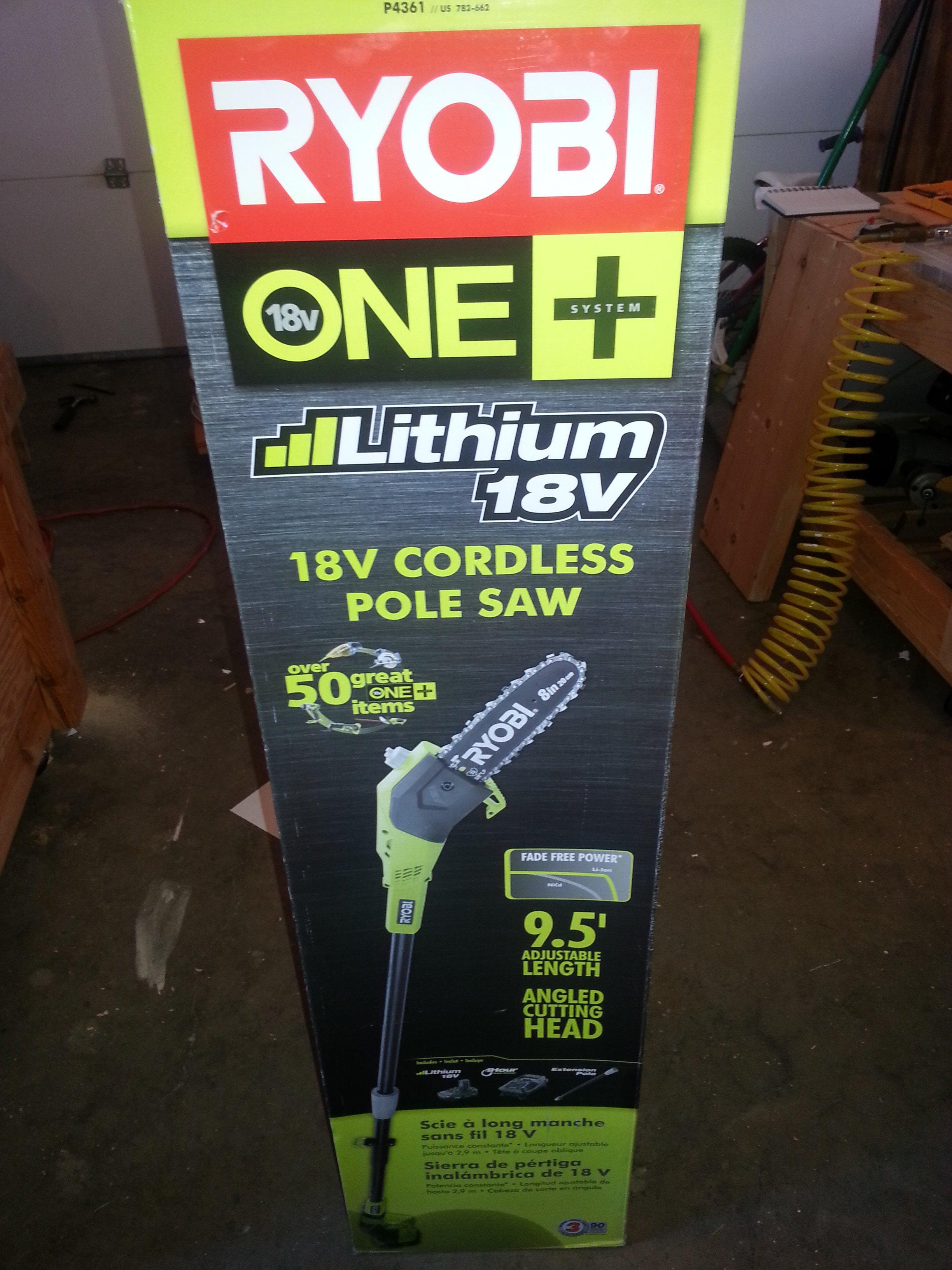 Ryobi Lithium-ion Pole Saw