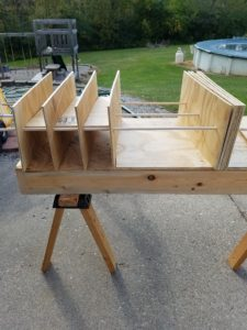 Canned Good Storage Rack Assembly
